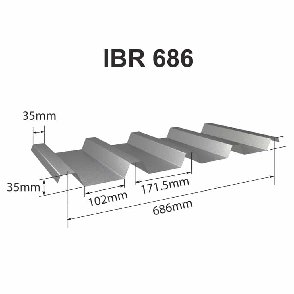 Ibr 686 Roof Sheeting Global Roofing Solutions
