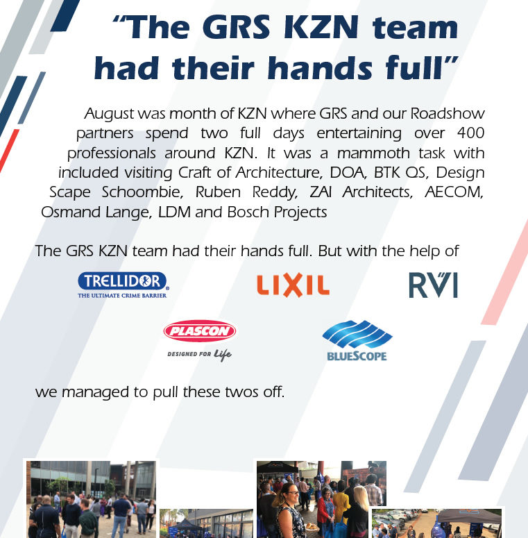 GRS Roadshow